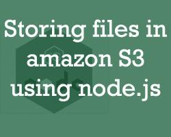 How to upload files to amazon s3 using node js   Nodejsera learn nodejs